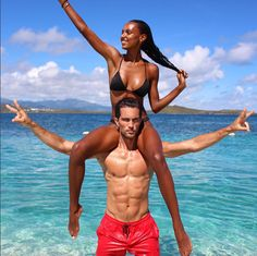 Jasmine Tookes Keep calm and love interracial couples. Interracial Couples, Biracial Couples, Interracial Wedding, Jasmine Tookes, Cute Relationship Goals, Cute Relationships, Cute Couples Goals, Couple Goals, Sport Food