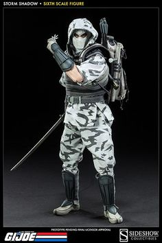SIDESHOW COLLECTIBLES STORM SHADOW G.I. JOE COLLECTIBLE FIGURE UNVEILED