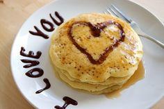 :) Lindo desayuno!
