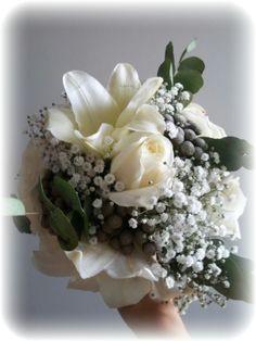 Ramo de novia, bridal bouquet, de www.amormuchoamor.com