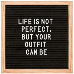 Total truth‼️Wear your best clothes every day‼️@wishlist.things.boards #wishlistthingsboards #inspirationalquotes #inspiration #motivationalquotes #motivation #quotes #quoteoftheday #quotesaboutlife #letterboards #followme #follow4follow #followforfollow #feltletterboards #feltletterboard #letterboard #photography #smallbusiness #feltletterboard #feltletterboards #messageboard #messageboards #lettersign #lettersigns #xmas #christmas #outfit #ootd #lifeisnotperfect