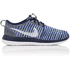 Nike Women's Women's Roshe Two Flyknit Sneakers ($130) ❤ liked on Polyvore featuring shoes, sneakers, low top, lace up shoes, lacing sneakers, lightweight sneakers and nike shoes