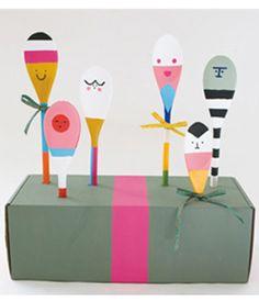 Cute Craft Idea: Spoon Friends