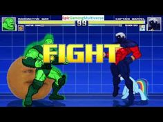 The Annoying Orange And Radioactive Man VS Captain Marvel & Rainbow Dash In A MUGEN Match / Battle This video showcases Gameplay of Rainbow Dash From The My Little Pony Friendship Is Magic Series And Captain Marvel The Superhero VS Radioactive Man And The Annoying Orange In A MUGEN Match / Battle / Fight