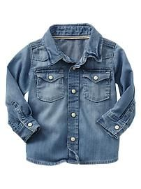 Paddington Bear™ + babyGap western denim shirt
