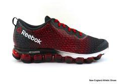 Reebok men Z Jet Thunder running shoes sneakers - Gravel / Red / Black / White #Reebok #RunningCrossTraining