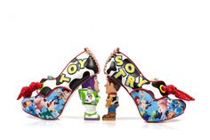 7ae6cd387f5 Irregular Choice Toy Story You ve Got A Friend In Me Buzz Lightyear Woody  Character High Heel Shoes