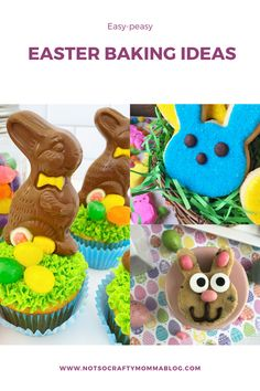 Bake Like an Expert with These Easy Easter Themed Recipes – Not So Crafty Momma Easter Bunny Cupcakes, Easter Cookies, Cookie Bowls, Easter Dinner Recipes, Easter Traditions, Decoration, Have Time, Baking, Crafty