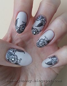 Nailpolis Museum of Nail Art | Stamping Maniac Project - Elegant by Mgielka M