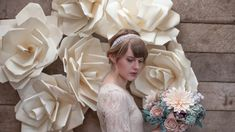 6 gorgeous ways to use DIY paper flowers for your wedding. #Wedding #Flowers