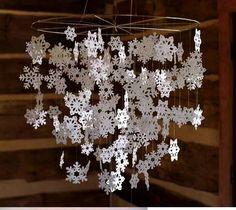 Izgő - mozgó, szállingózó hópelyhek... Így készül: A kivágott hópelyheket simítsuk és vasaljuk ki. (Vigyázzunk nehogy megégjen a papír!) Vékony...