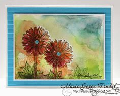 A La Pause: Eclosion d'Espoir encore - Blooming with Hope again... Marie-Josée Trudel cartes cards Stampin' Up! SU