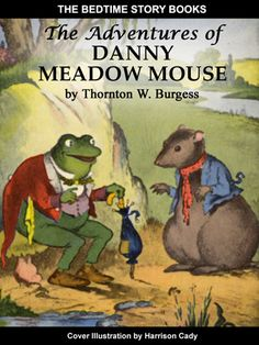The Adventures Of Danny Meadow Mouse, by Thornton W. Burgess - Cover Illustration by Harrison Cady