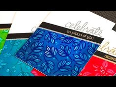 Coloring with Bleach (Distress Inks) - YouTube