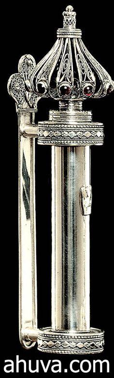 Cylindrical Mezuzah