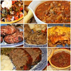 More Things to Do With Ground Beef - Another collection of ground beef recipes from Deep South Dish.