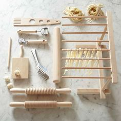 Shop pasta from Williams Sonoma. Our expertly crafted collections offer a wide of range of cooking tools and kitchen appliances, including a variety of pasta. Cool Kitchen Gadgets, Kitchen Items, Kitchen Utensils, Kitchen Tools, Top Gadgets, 2017 Gadgets, Smeg Kitchen, Copper Utensils, Kitchen Sale