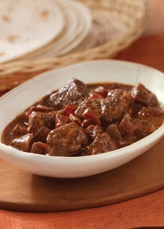 Make dinner in a pinch with this savory and delicious Quick Pork Mole recipe! It's oh so savory and filling – pin it now!