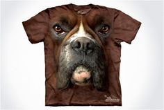 Hyper Realistic Dog Face T-Shirts / via @Graham Smith