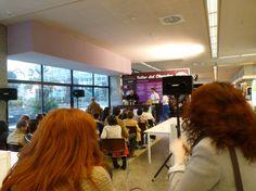 Charla magistral en el obrador. VII Salón del Chocolate de Madrid en Moda Shopping. @Chocoadictos.