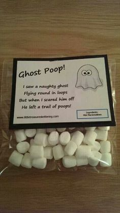 Ghost poop from Lyndsey Little Treasures