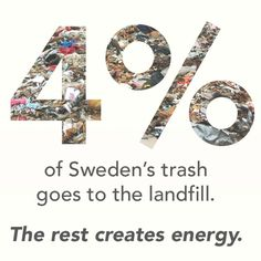 Well done Sweden! if it can be done in sweden, it can be done everywhere! let's do it! Save Our Earth, Save The Planet, Our Planet, Planet Earth, We Are The World, Change The World, In This World, Thinking Day, Environmental Issues