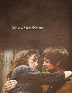 Only you, Robin - BBC's Robin Hood... one more series I got to watch thanks to Netflix!