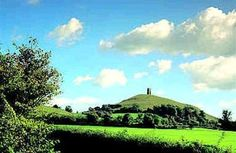 """Named Ynys yr Afalon (""""Isle of Avalon"""") by the ancient Britons, Glastonbury Tor is widely believed to be the Avalon of Arthurian legend. High Fantasy, Medieval Fantasy, King Arthur Legend, Mists Of Avalon, Glastonbury Tor, English Love, Alternate Worlds, Celtic Mythology, Chivalry"""