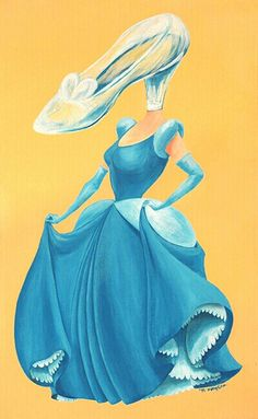 """Im painting animation series!- """"Symbol of animaion""""  2nd - The Cinderella !!  Plz look forward to other painting! :)  #mongcha #animation #disney #Cinderella #acrylic #illustration #painting"""