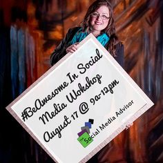 Do you want to learn strategies to market your business effectively using social media? NOW is the time. 8/17 9-12 http://apwt.thesocialmediaadvisor.com/-BeAwesome-In-Social-Media-Workshop-a28/ #BeAwesome