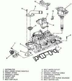 Ford 7.3 Engine Diagram 6.9/7.3 Idi Diesel Tech Info