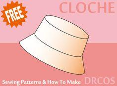 eabc4c2893 kalap, sapka szabásminták · Choche Sewing Patterns |DRCOS Patterns & How To  Make Szabásminták Ingyen, Ingyenes Varrás,