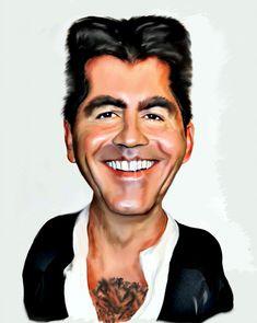 Simon Cowell  -  photoshopcreative.co.uk