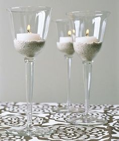 repurpose wine glasses