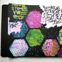 Found it at Blitsy - Mixed Media Art Journal With Gelli Arts Mini Plates