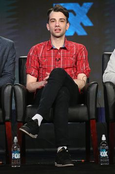 Jay Baruchel at the Winter TCA Tour for Man Seeking Woman on at The Langham Huntington Hotel and Spa - Pasadena, California Jonathan Adams, Man Seeking Woman, Jay Baruchel, Pasadena California, Spa, Winter, Women, Winter Time, Women's