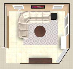 finished floor plan