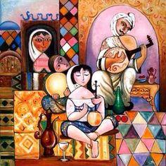 للفنان العراقي المبدع سعدي داوود ............ ZEENARAQI…