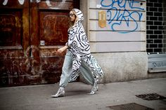 Pantsuits Were Everywhere on Day 2 of Milan Fashion Week - Fashionista