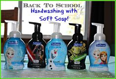 Softsoap Foaming Hand Soap ~ Practice For Back To School Health! Pick up the Frozen or Star Wars Foaming Hand Soap to encourage good hand…
