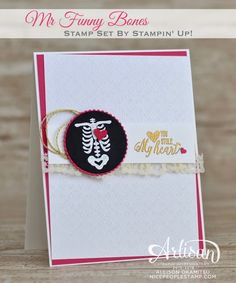 nice people STAMP!: My Funny Bones Card & Holiday Stampin' Bingo!