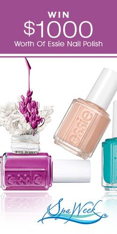 Win $1000 Worth Of #Essie Nail Polish! #nails #beauty