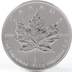 1 Ounce Canadian Palladium Maple Leaf