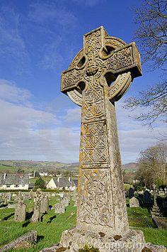 Celtic Cross at St. Bridget !!