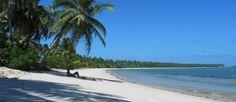 Praia deserta em Moreré, na ilha de Boipeba, na Bahia: lugar ideal para quem é de Capricórnio Foto: Flávia Milhorance / O Globo