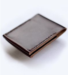 Simple Folded Leather Wallet | Men's Accessories | Moniker Goods | Scoutmob Shoppe | Product Detail