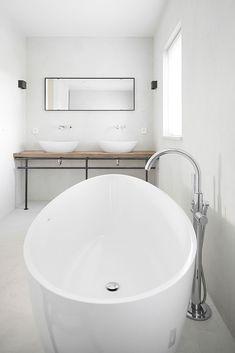 bad vrijstaand badkamer op maat