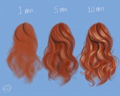 Step by step painting slightly curled, loose hair in Photoshop 😊 . . . . #hairofinstagram #art #hairporn #instaartist #hairoftheday #hairdrawing #drawinghair #speedpainting #hairtutorial #speeddrawing #artistsoninstagram #artoftheday #tutorial #lesson #stepbystep #artistic_unity #wacom #doodle #beauty #instaart #digitalart #digitalpainting #madewithwacom #photoshop #photoshoppainting #artistoninstagram #digitalartist #artclasses #howtodraw #howtopaint