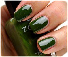 Lovely green polish