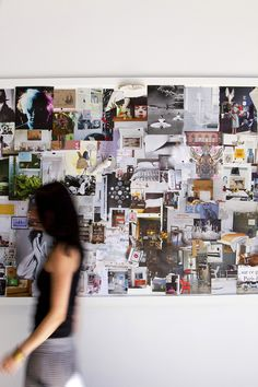 best of inspiration boards - Design Sponge Picture Wall, Photo Wall, Hallway Pictures, Inspiration Boards, Hallway Inspiration, Interior Inspiration, Home Office Space, Beautiful Dream, House Design